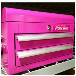 The Pink mini chest  Custom fit color matched drawer liners & two pink keys  In select Sears stores & soon to a few lucky  Homegoods stores