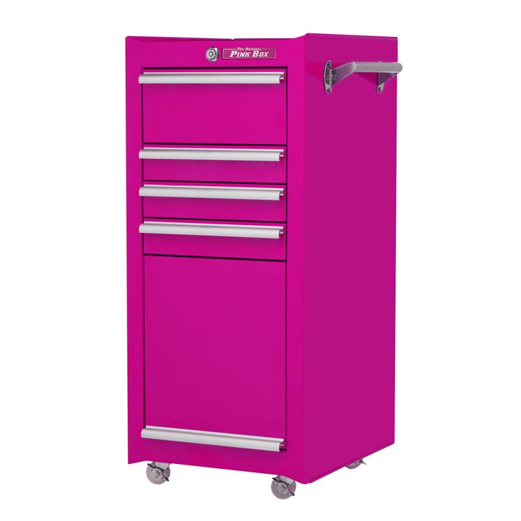 16 4 drawer rolling tool salon cart the original pink box. Black Bedroom Furniture Sets. Home Design Ideas