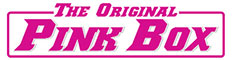 The Original Pink Box Sticky Logo
