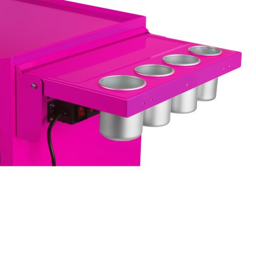 16 4 drawer rolling tool salon cart the original pink box for Ukuran box salon 8 inch
