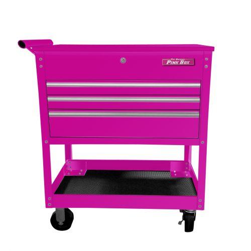 34″ 3 Drawer Industrial Utility   Mechanics Cart f17e7bdba